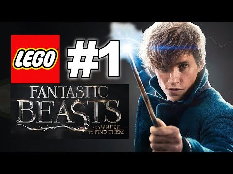LEGO Fantastic Beast And Where To Find Them Story #1