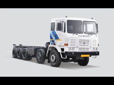 Ashok Leyland 4123 - India's first 16 Wheeler Rigid Truck with twin tyre lift axle