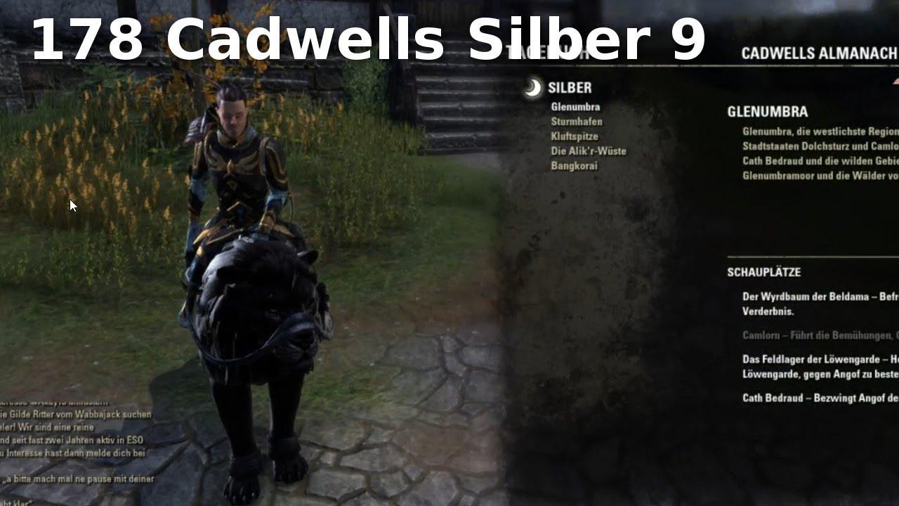 Elder Scrolls Online Gameplay German 178 Cadwells Silber 9 Cadwells
