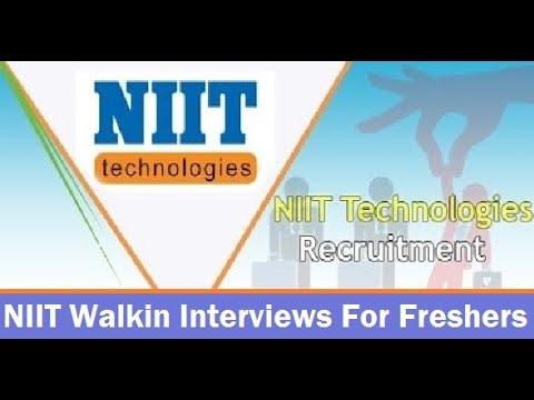NIIT Walkin Interviews   Freshers   Associate/Senior Associate