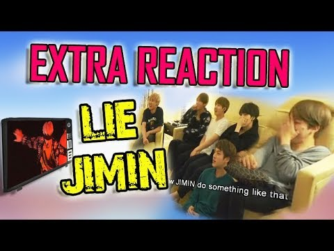 BTS Extra Reacts To JIMIN - LIE Performance #BTS REACTION