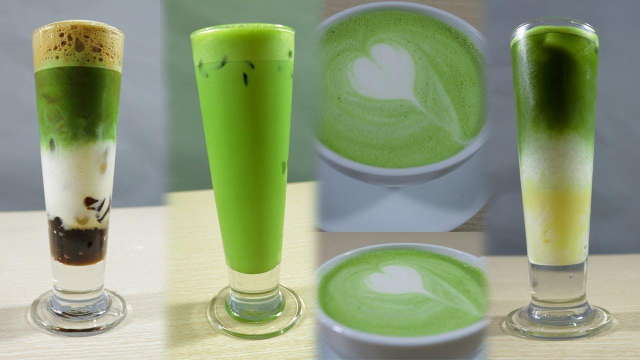 Tổng Hợp 4 Công Thức Matcha Green Tea [ English Sub ]
