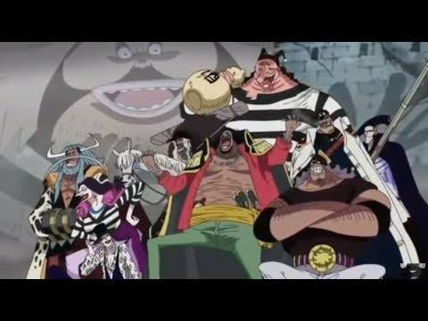 BlackBeard Pirates In MarineFord ! One Piece ENG SUB