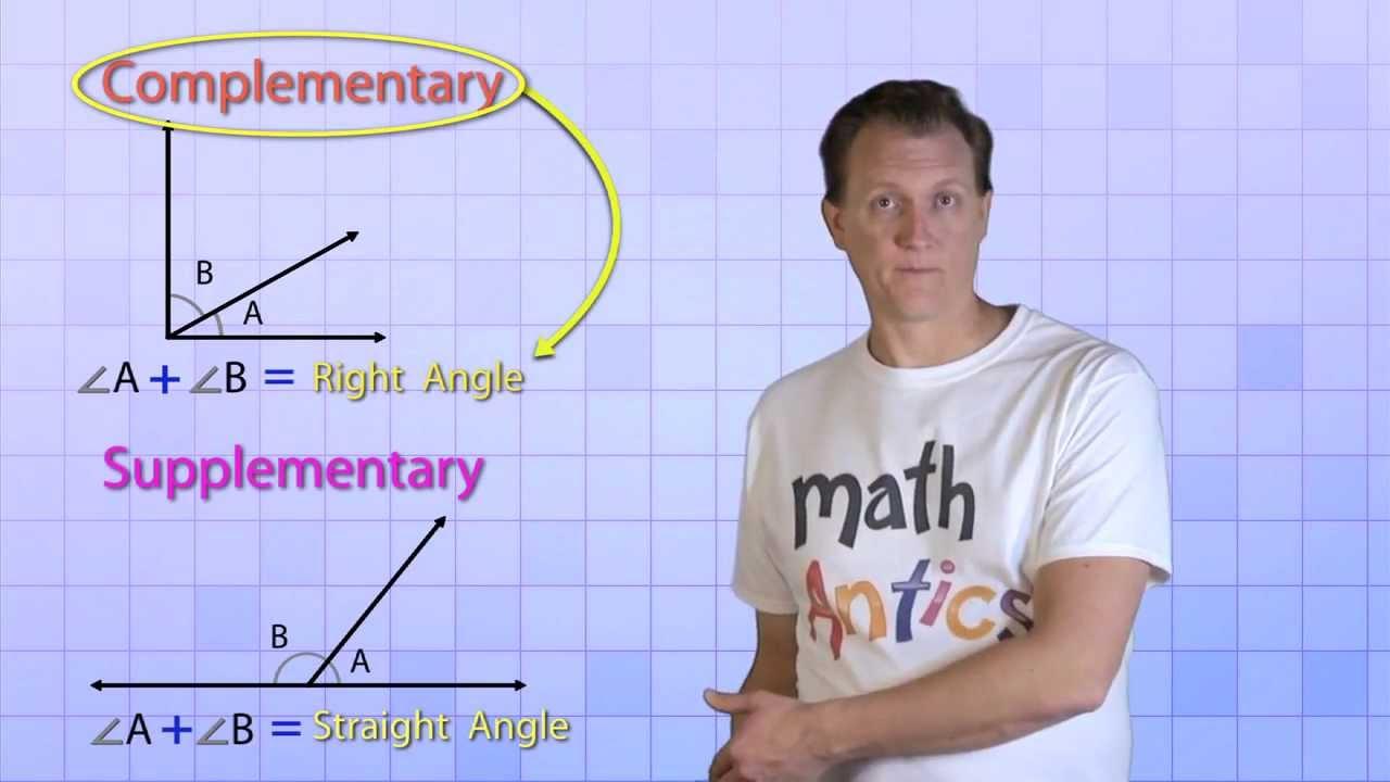small resolution of Math Antics - Angle Basics - YouTube