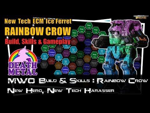 [BRxV] MWO Build & Skills : Quad HML Rainbow Crow