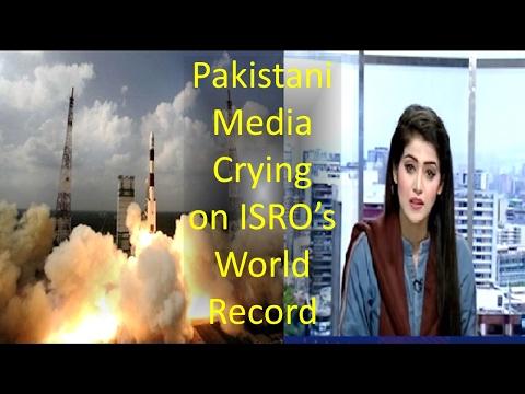 Pakistani Media Reactions On ISRO's World Record of 104 Satellites!