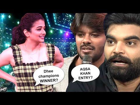 Priyamani Q&A: Dhee Champions Winner, Aqsa Khan WildCard, Shresti Elimination, About Sudheer Rashmi
