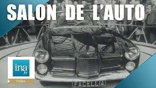 Le salon de l'auto 1959 | Archive INA