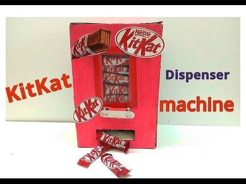 How to make KitKat Chocolate Machine