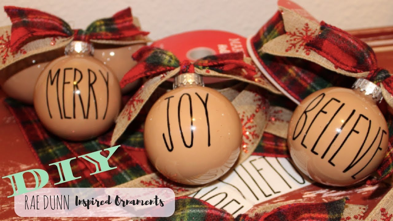 Rae Dunn Inspired Ornaments Cricut Design Space Christmas