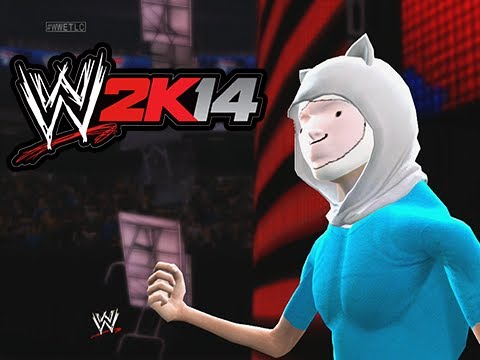 WWE 2K14 Lui Vs Delirious Vs Cartoonz (Table Triple Threat)