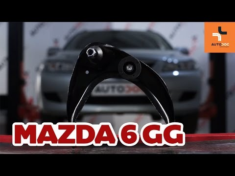 How to replace front upper arm Mazda 6 GY Tutorial | Autodoc