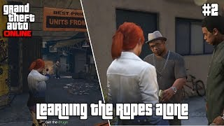 GTA ONLINE MISSION (2) LEARNING THE ROPES ALONE (GERALD) | PC