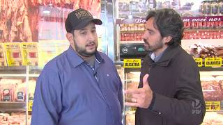 Casa de carnes Bom Beef faz doação para moradora de Guarujá - 1º Bloco