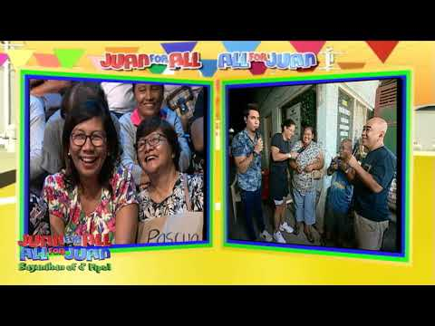 Juan For All, All For Juan Sugod Bahay |  August 16, 2019