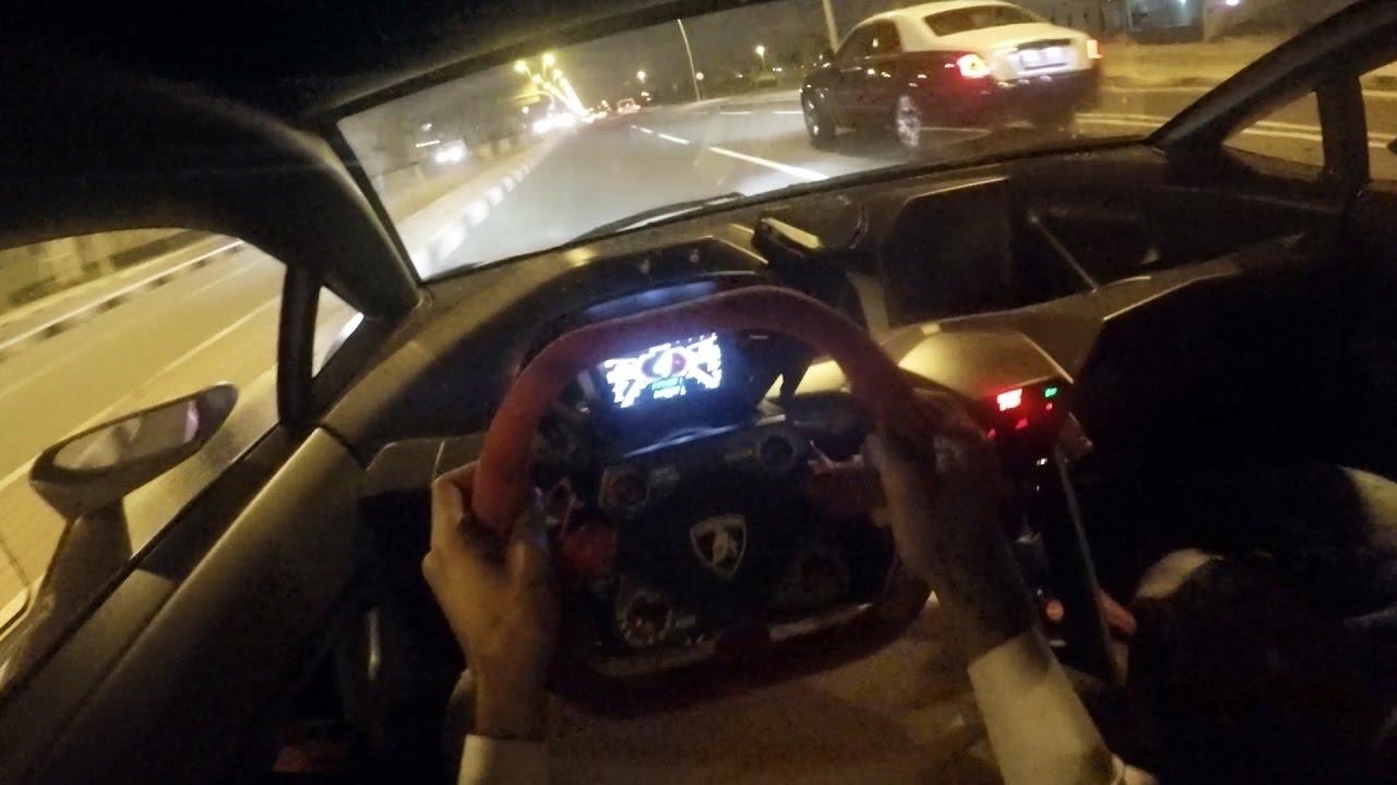 Pov Drive Rare Lamborghini Sesto Elemento Youtube
