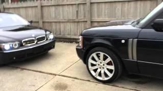 "2003 Land Rover Range Rover on 22"" Stormer wheels"