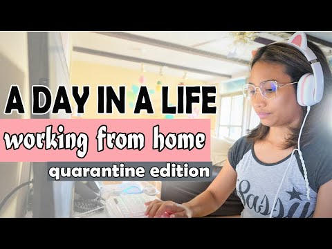 A DAY IN A LIFE of IT Support   quarantine edition   work from home
