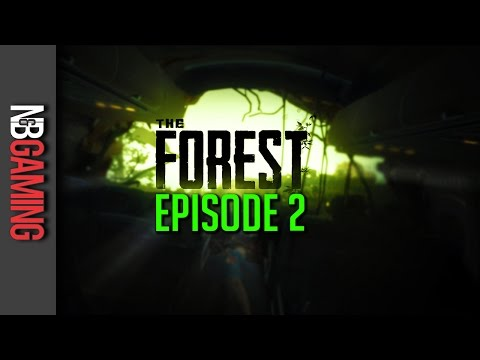The Forest - Part 2 - Base Building and Cave Spelunking