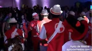 Show Escola de Samba em Casamento - Abertura do Show Apito de Mestre