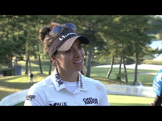 Gaby Lopez Second Round Interview at the 2019 TOTO Japan Classic