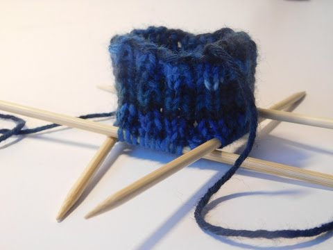Socken stricken Tutorial -Teil 2 – Der Sockenbund und Schaft