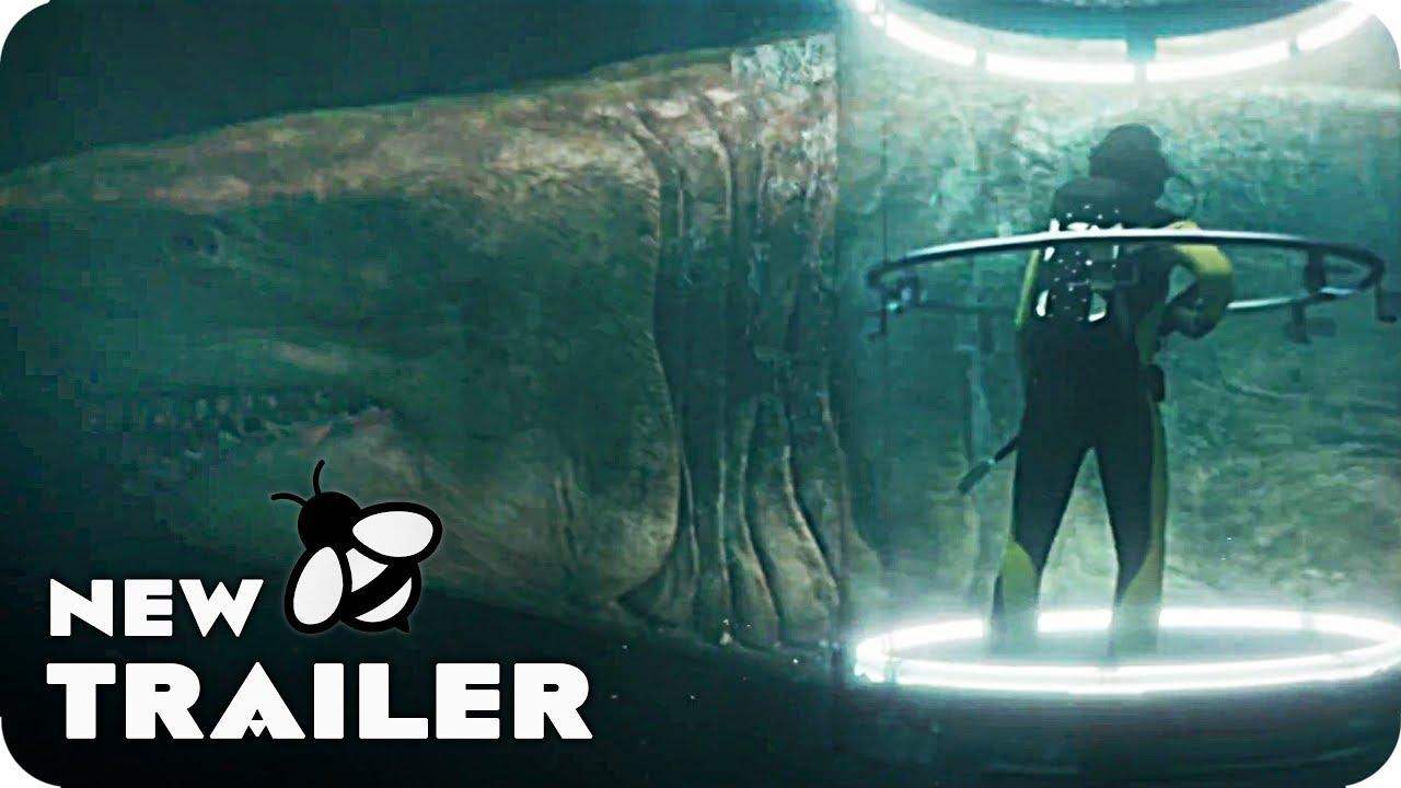 THE MEG Swim Faster Spot & Trailer (2018) - YouTube