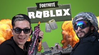 James y Aleks juegan a Roblox Fortnite