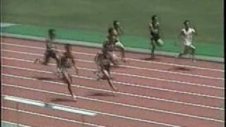 1997年 大阪選手権100m 予選