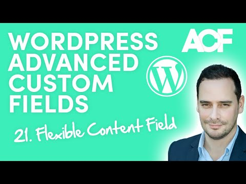 WordPress extra content field