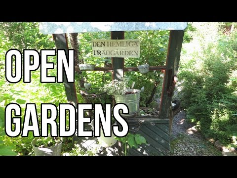 Open Garden Day 2015 || Finnish Gardens & Craft Shop Tour