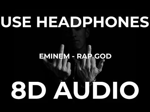 Eminem - Rap God (8D Audio)