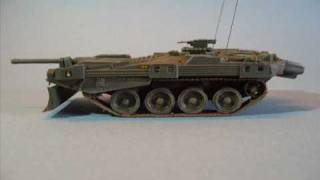 Trumpeter 1/72 S-tank  Strv. 103 B  - A Building Review
