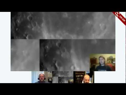 Live Telescope Observing - the Moon