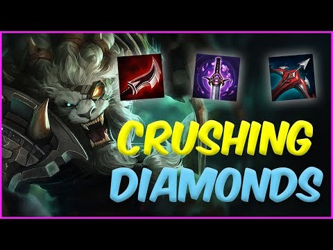 THIS IS HOW YOU CRUSH DIAMOND ELO WITH RENGAR | ScrubNoob