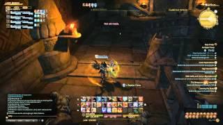 Final Fantasy XIV: A Realm Reborn - Dungeon: Amdapor Keep, That Demon Wall!