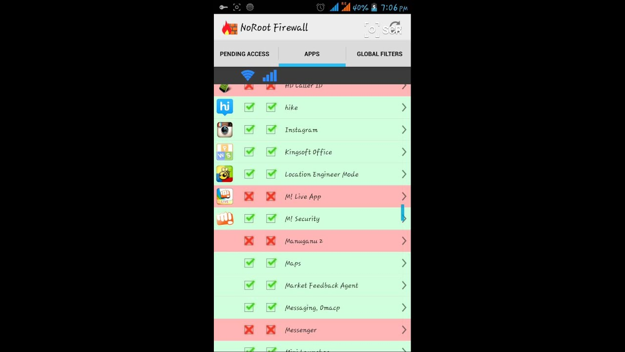 Block Internet Access For Single Application On Android