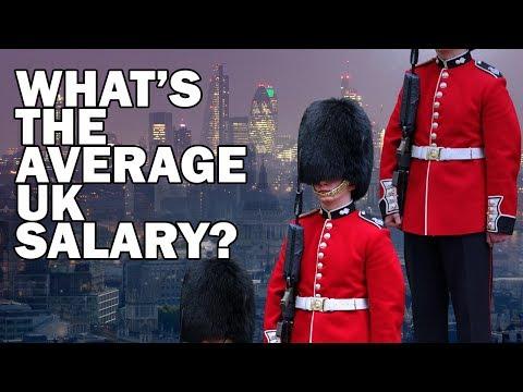 What's The Average UK Salary?