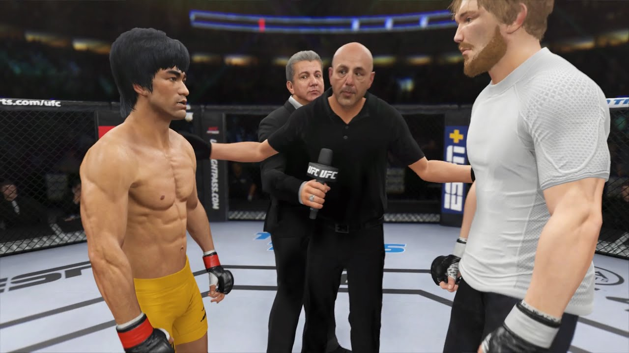 Bruce Lee vs. Logan Paul - EA Sports UFC 4 - Epic Fight 🔥🐲
