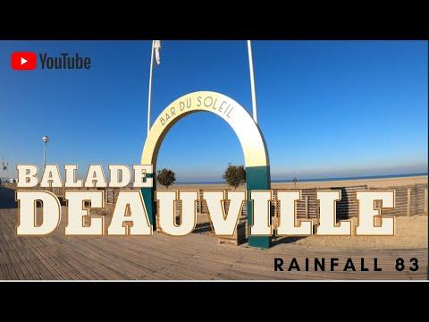 Deauville : Balade dans le centre ville de Deauville, Novembre 2020