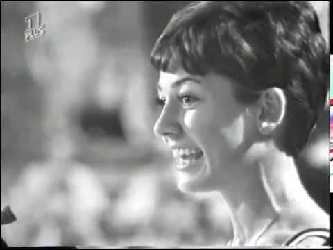 Schlagerfestspiele 1965 - Dorthe- Blondes Haar am Paletot