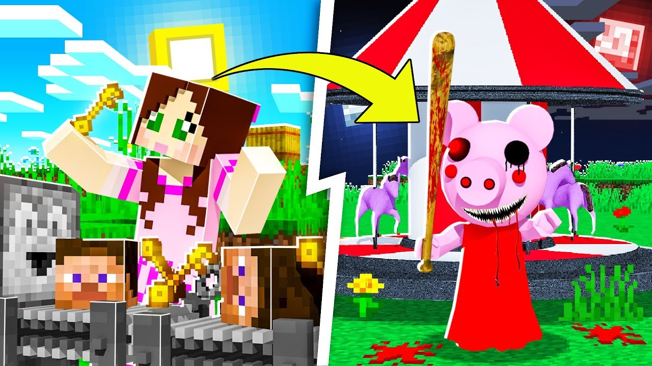 Minecraft Piggy Factory Tycoon Make Money Find The Cure