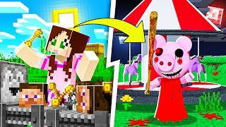 Minecraft: PIGGY FACTORY TYCOON! (MAKE MONEY & FIND THE CURE!) Modded Mini-Game