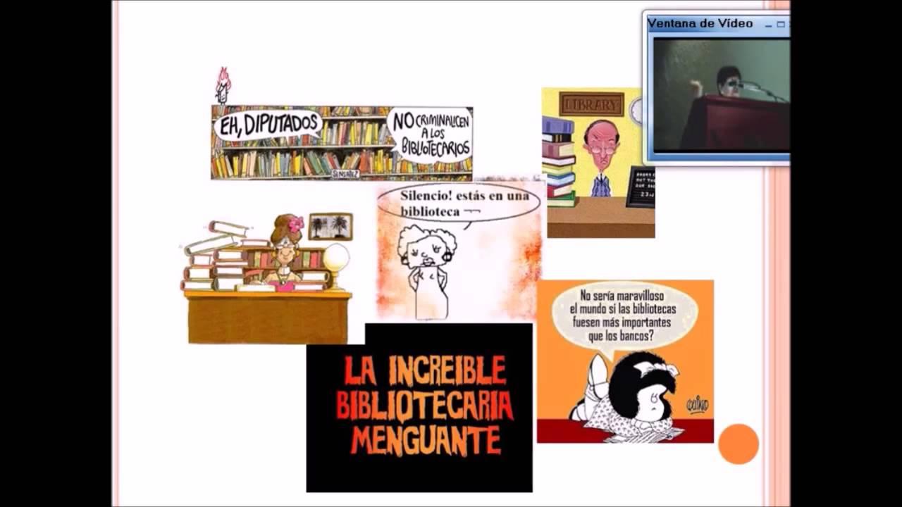 La imagen del bibliotecario ante el usuario - YouTube
