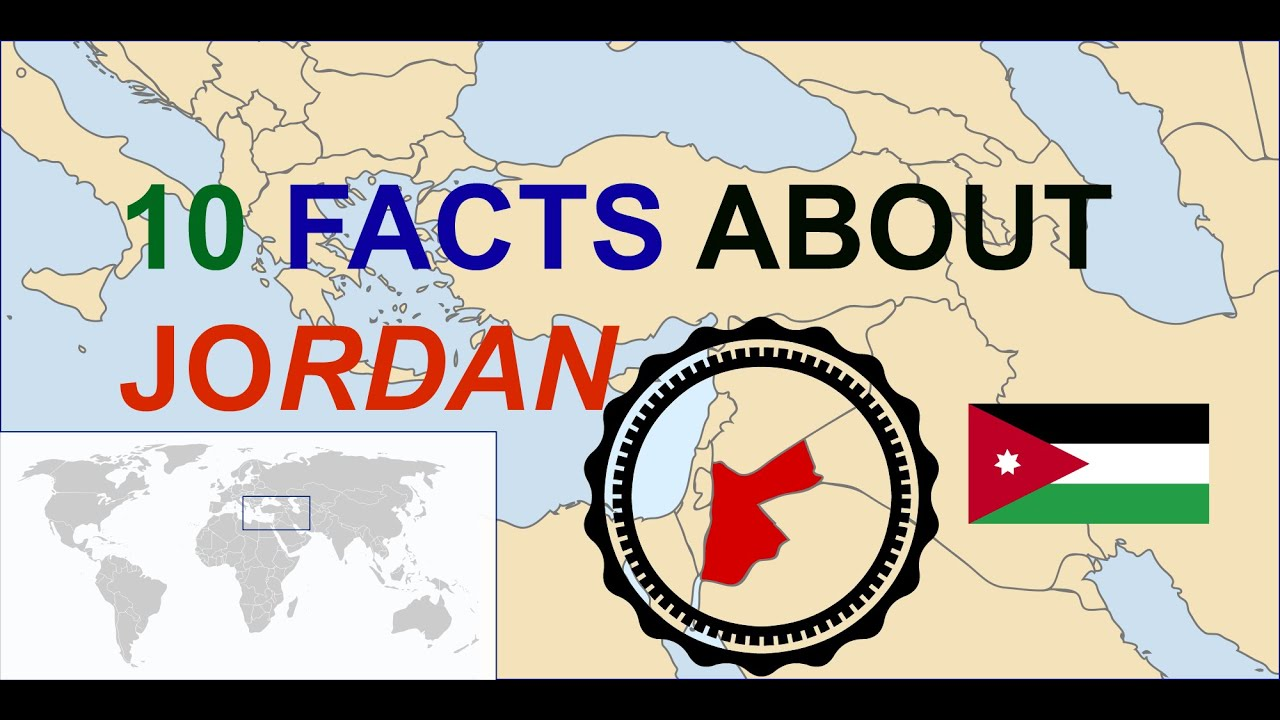 facts about jordan the country