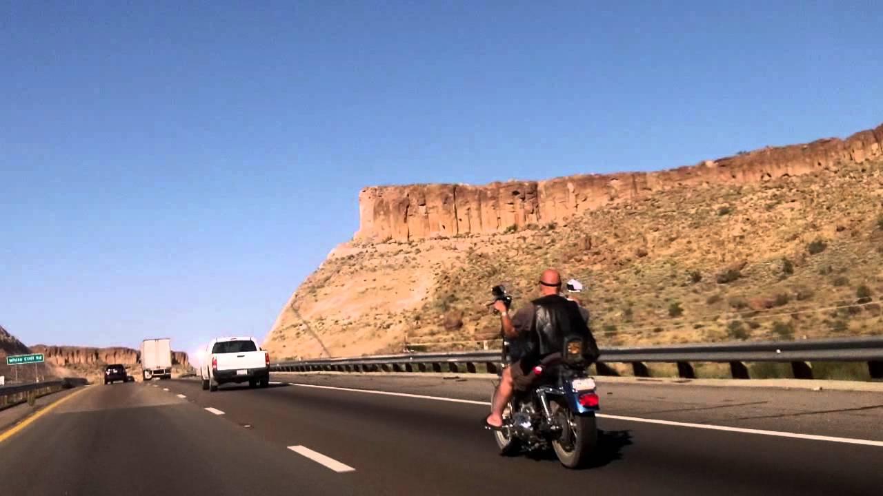 Harley Davidson Arizona >> Riding A Harley Davidson Sportster Motorcycle In Arizona