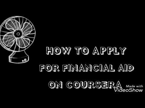 How to apply for FINANCIAL AID on COURSERA || Knowledge Island