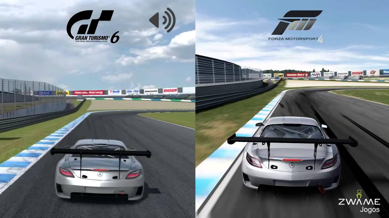 Gran Turismo 6 Vs Forza Motorsport 4