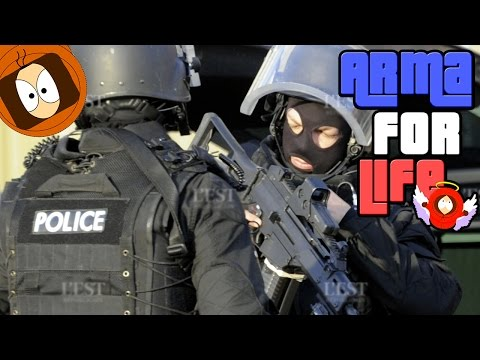 POLICE LIFE : ASSAUT DU GROUPE D'INTERVENTION ! | ARMA FOR LIFE | ARMA 3