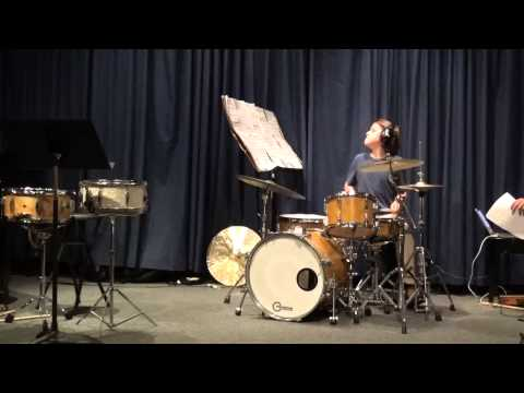 Avery Logan's Jazz Drum Recital 2015